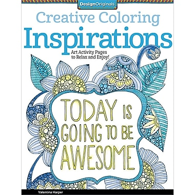 Design Originals Creative Coloring Inspirations Art