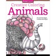 """Design Originals """"Creative Coloring: Animals: Art Activity Pages To Relax and Enjoy"""" Book"""