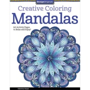 "Design Originals ""Creative Coloring Mandalas: Art Activity Pages to Relax and Enjoy!"" Adult Coloring Book"