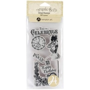 Hampton Art™ #1 Graphic 45 Cling Stamps, Time To Celebrate