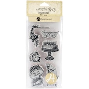 Hampton Art™ #2 Graphic 45 Cling Stamps, Time To Celebrate