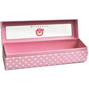 Queen & Co Trendy Tape Storage Box, Pink