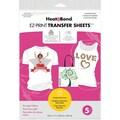 Thermoweb Heat'n Bond EZ Print Light Fabrics Transfer Sheet, 8 1/2in. x 11in.