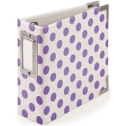 We R Memory Keepers™ Instagram Album With Ring, 4 x 4, Neon Purple