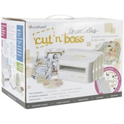 Craftwell™ Cut'N'Boss Machine Teresa Collins Edition All-in-one Embosser & Die Cutter, White