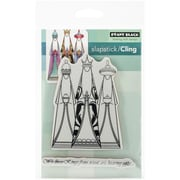 "Penny Black® 5"" x 7 1/2"" Sheet Cling Rubber Stamp, We Three Kings"
