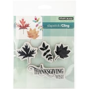 "Penny Black® 3 1/2"" x 4 3/4"" Sheet Cling Rubber Stamp, Fall Flutters"