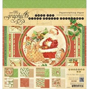 Graphic 45® Paper Pad, 8 x 8, 'Twas The Night Before Christmas