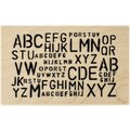 Ranger Dyan Reaveley's 4in. x 2 1/2in. Dylusions Mounted Wood Stamps