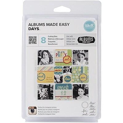 We R Memory Keepers Albums Made Easy Die, Days 1514156