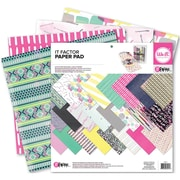 "We R Memory Keepers™ Paper Pad, 12"" x 12"", It Factor"