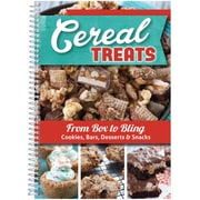 "CQ Products ""Cereal Treats: Cookies/Bars/Desserts & Snacks"" Cookbook"