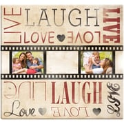 "MBI Post Bound Scrapbook, 12"" x 12"", Live Laugh Love Film Strip"
