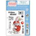 Crafter's Companion Bebunni EZMount™ 5 1/2in. x 8 1/2in. Cling Rubber Stamp Set, With Love At Christmas