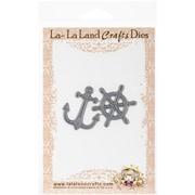 La-La Land Crafts Steel Die, Wheel and Anchor