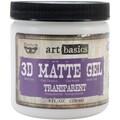 Prima Marketing™ Art Basics 3D Matte Gel, 8 fl.oz., Transparent