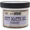 Prima Marketing™ Art Basics Soft Matte Gel, 8.5 fl.oz., Transparent