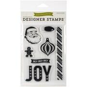 Echo Park Paper 4 x 6 Echo Park Stamps, Joy