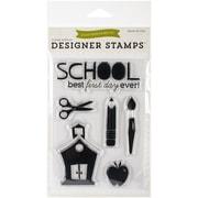 """Echo Park Paper 4"""" x 6"""" Echo Park Stamps, School"""