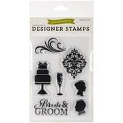 """Echo Park Paper 4"""" x 6"""" Echo Park Stamps, Wedding"""