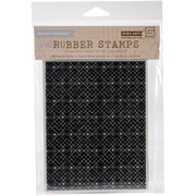 Hero Arts® Basic Grey Evergreen Cling Stamps, Tiny Snowflake Grid