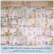 "Advantus® Idea Ology Vellum Paper Stash, 12"" x 12"", Wallflower"