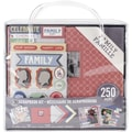 K&Company™ Scrapbook Kit, 8in. x 8in., Family