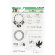 "Penny Black® 5"" x 7 1/2"" Sheet Clear Stamp Set, Jolly Filled"