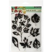 "Penny Black® 5"" x 6 1/2"" Sheet Clear Stamp Set, Lush & Lavish"