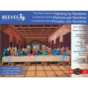 "Reeves™ Artist's Collection Paint By Number Kit, 12"" x 16"", Last Supper"