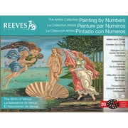 "Reeves™ Artist's Collection Paint By Number Kit, 12"" x 16"", The Birth Of Venus"