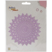 Ecstasy Crafts Nellie's Choice Multi Frame Die, Circle Stars