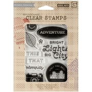 Hero Arts® Basic Grey Second City Clear Stamps, Bright Lights