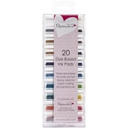 "Docrafts® 1.25"" x 1.25"" Papermania Mini Dye Ink Pads, Assorted Colors"