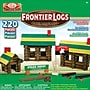 Slinky 220-Pieces Frontier Logs Classic All Wood Construction