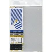 Craftwell™ eBosser Teresa Collins Universal Size Embossing Folder, Modern Stripe