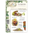 """Crafter's Companion Brambley Hedge EZMount™ 8 1/2"""" x 5 3/4"""" Rubber Stamp Set, The High Hills"""