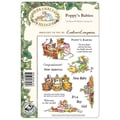 Crafter's Companion Brambley Hedge EZMount™ 8 1/2in. x 5 3/4in. Rubber Stamp Set, Poppy's Babies