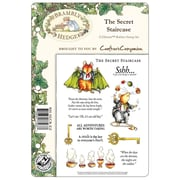 """Crafter's Companion Brambley Hedge EZMount™ 8 1/2"""" x 5 3/4"""" Rubber Stamp Set, The Secret Staircase"""