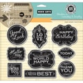 Hero Arts® Adventures In Cardmaking & Journaling Cling Stamps, Good Luck