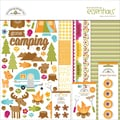 Doodlebug™ Essentials Page Kit, 12in. x 12in., Happy Camper
