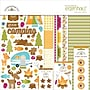 Doodlebug™ Essentials Page Kit, 12 x 12, Happy