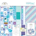 Doodlebug™ Essentials Page Kit, 12in. x 12in., Frosty Friends