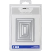 Kaisercraft Steel Decorative Die, Nesting Rectangles