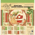 Graphic 45® Paper Pad, 12in. x 12in., 'Twas The Night Before Christmas