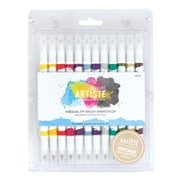 Docrafts® Artiste Dual Tip Brush Markers, Vintage