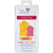 Crafter's Companion Die'sire Decorative Cutting Die, Scalloped Tags