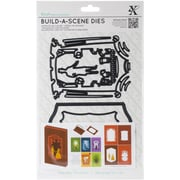 Docrafts® Xcut Black Build-A-Scene Die, Shadow Box Theatre