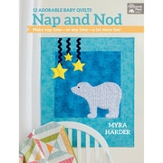"""Martingale® """"Nap and Nod - 12 Adorable Baby Quilts"""" Book"""