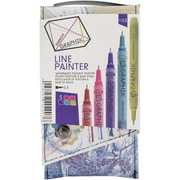 Reeves™ Graphik Palette #3 Line Painter Set, Multicolor, 5/Pack